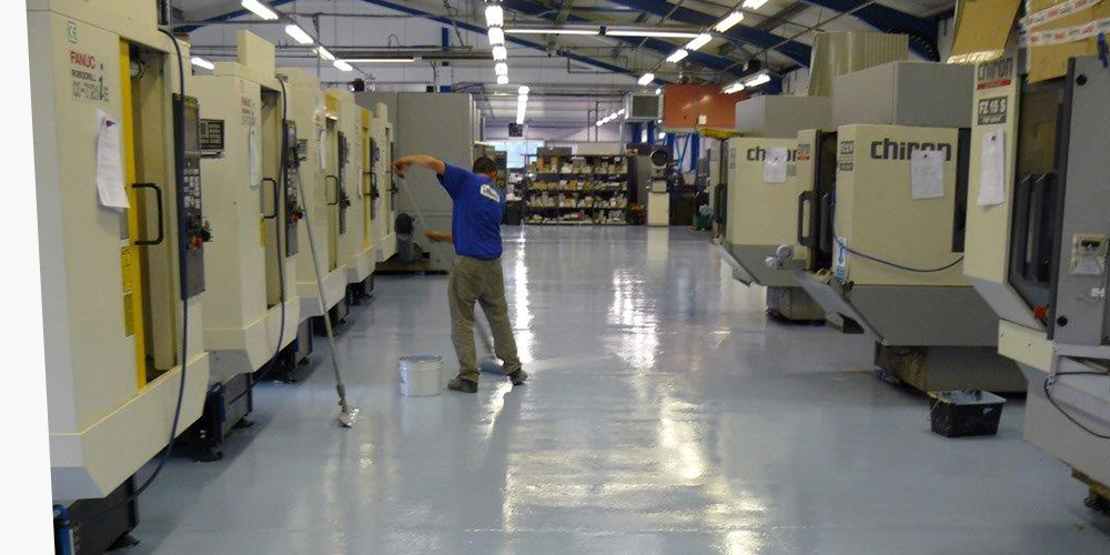 Industrial Flooring London